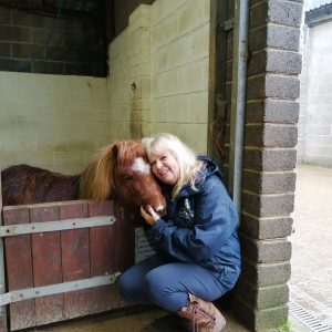 Alison Murray. Photo copyright The Mare and Foal Sanctuary