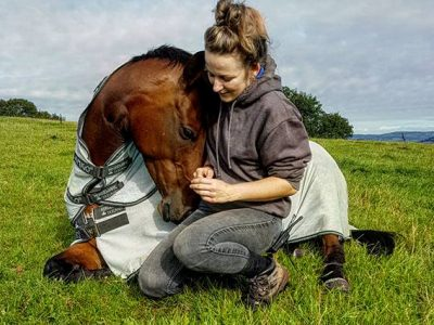 Horses make a difference to our lives. Photo copyright of The Mare and Foal Sanctuary (3)