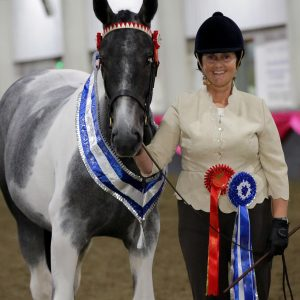 Picture of Louise with a horse