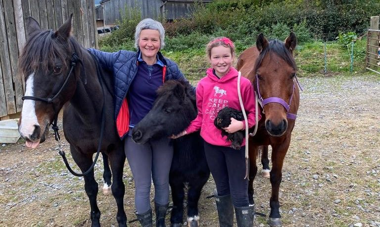 sanctuary-at-home-carer-with-rehomed-sanctuary-pony
